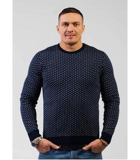 """Чоловічий в'язаний светр """"Галка"""" (08)."""