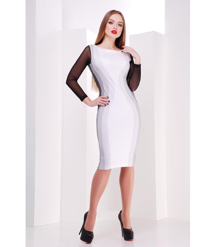 Сукня Лоя дрібна смужка.
