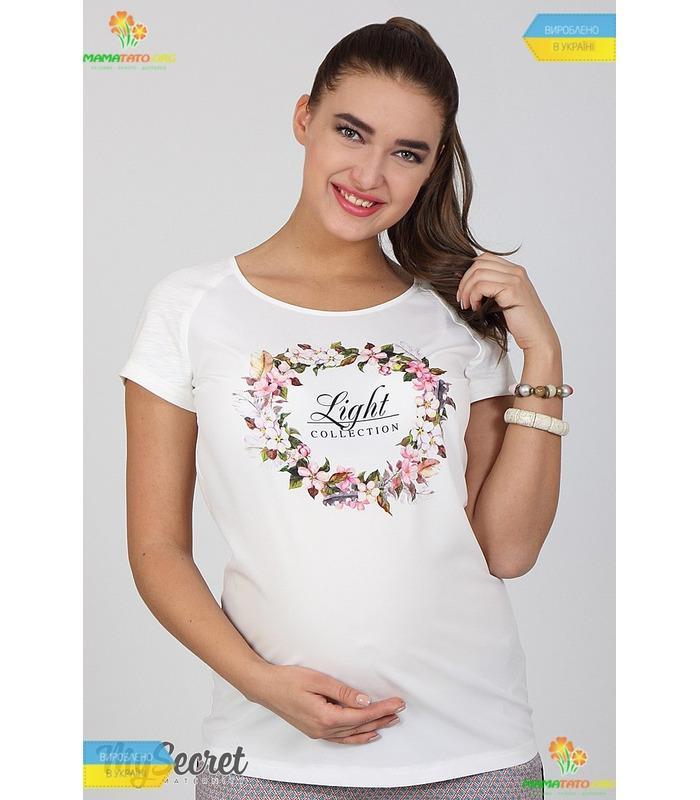 Блуза для вагітних Ліра-квітка.