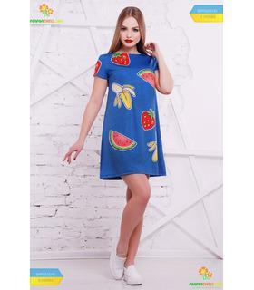 Сукня Фрукти-вишивка.