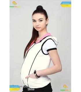 Двусторонний жилет для беременных Марио.