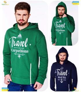 """Худі чоловіче """"Travel"""" (011, 012)."""