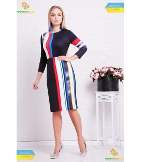 Платье Лия-Полоска.