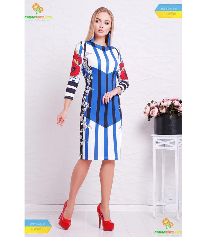 Платье Полоска-Маки.
