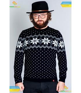 Мужской вязаный свитер (мод.63).