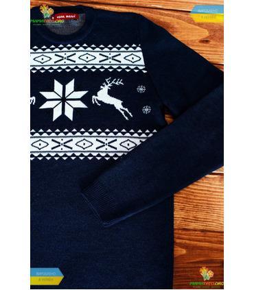 Чоловічий в'язаний светр (мод.46).