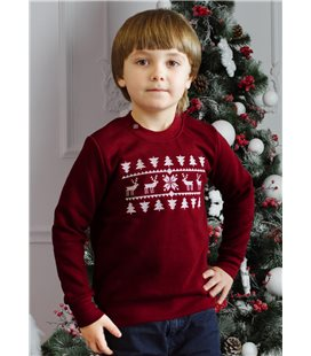 Дитячий світшот Різдвяний-1 хлопчику мод.3