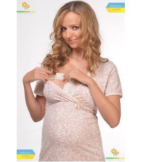 """Нічна сорочка для вагітних та годування """"Praline""""."""