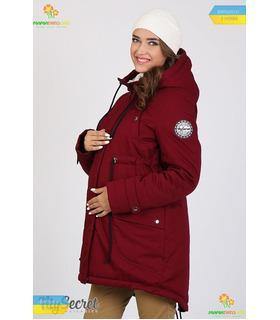 Тепла куртка-парка для вагітних Ініра.