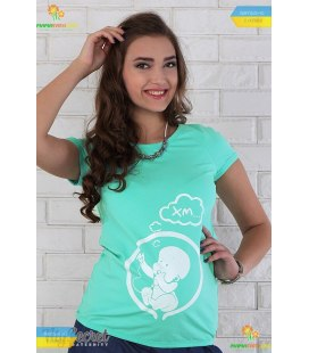 Футболка Алива Малышик MI, футболки для беременных