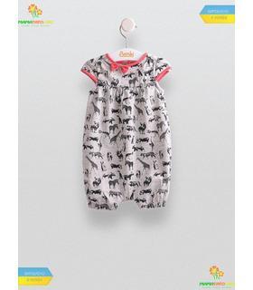 Напівкомбінезон Зоо (ПК150), літній дитячий одяг