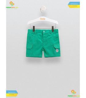 Шорты для мальчика ШР455 GR, зелёные детские шорты