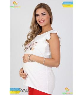 Туніка Жаклін Квітка, туніки для вагітних