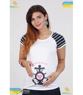 Футболка Аліва Лайт, футболка с принтом для беременных