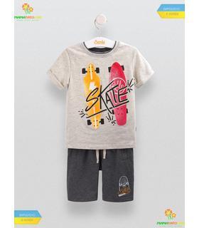 Костюм для хлопчика КС543 GR, сірий дитячий костюм