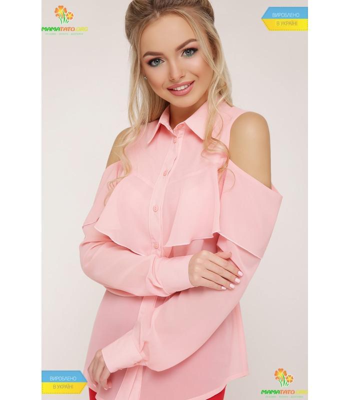 Блуза Джаніна RO, купити персикову блузу