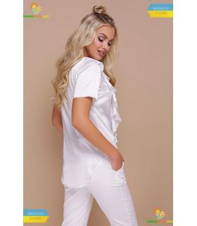 Блуза Сієна WH, біла шовкова блузка