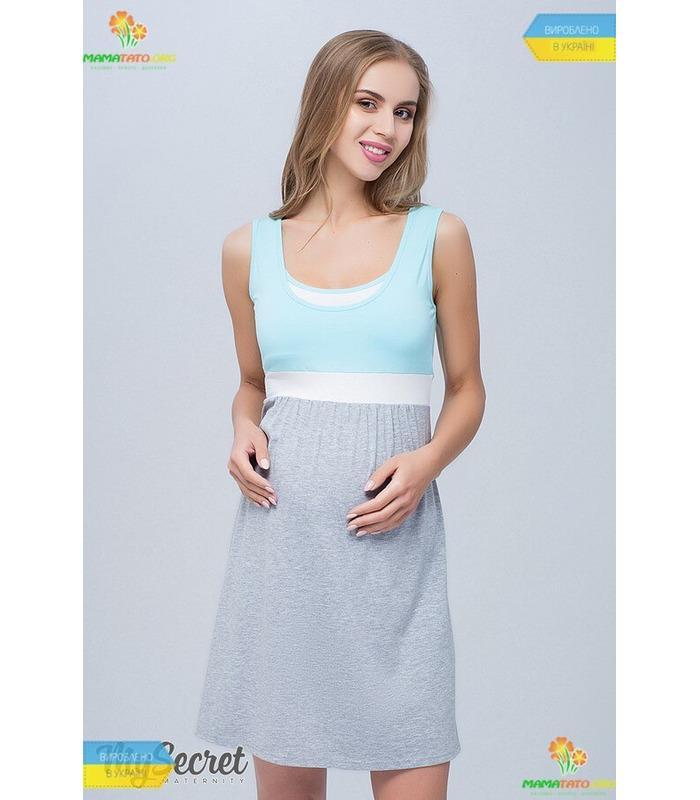 Нічна сорочка вагітним та годуючим Села NM