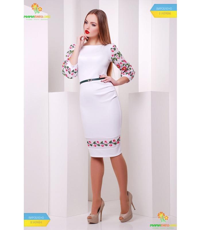 Платье с принтом Андора ПК-WH