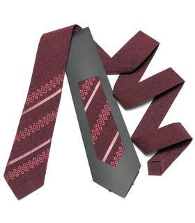 Вышитый галстук 758