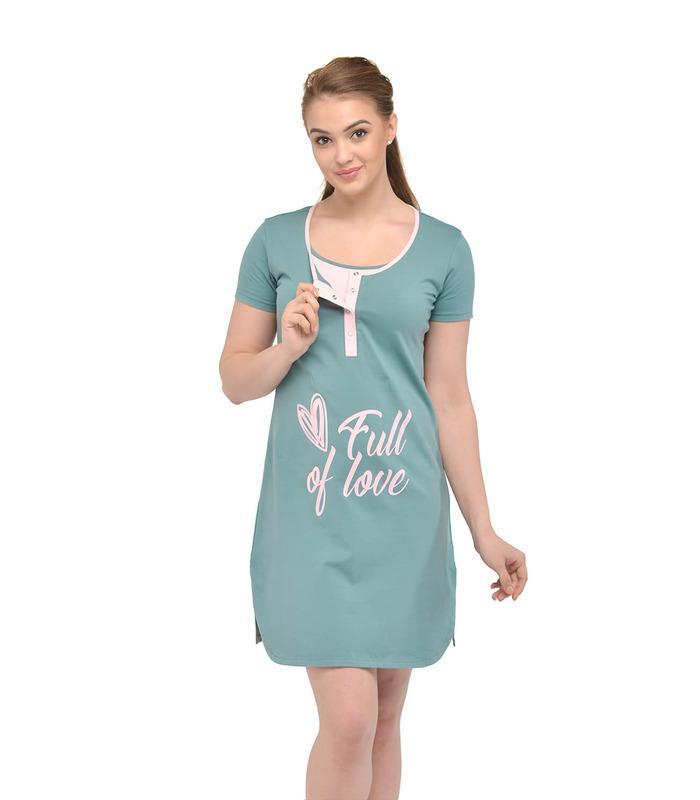 Ночная сорочка Кловер м.24167 GR