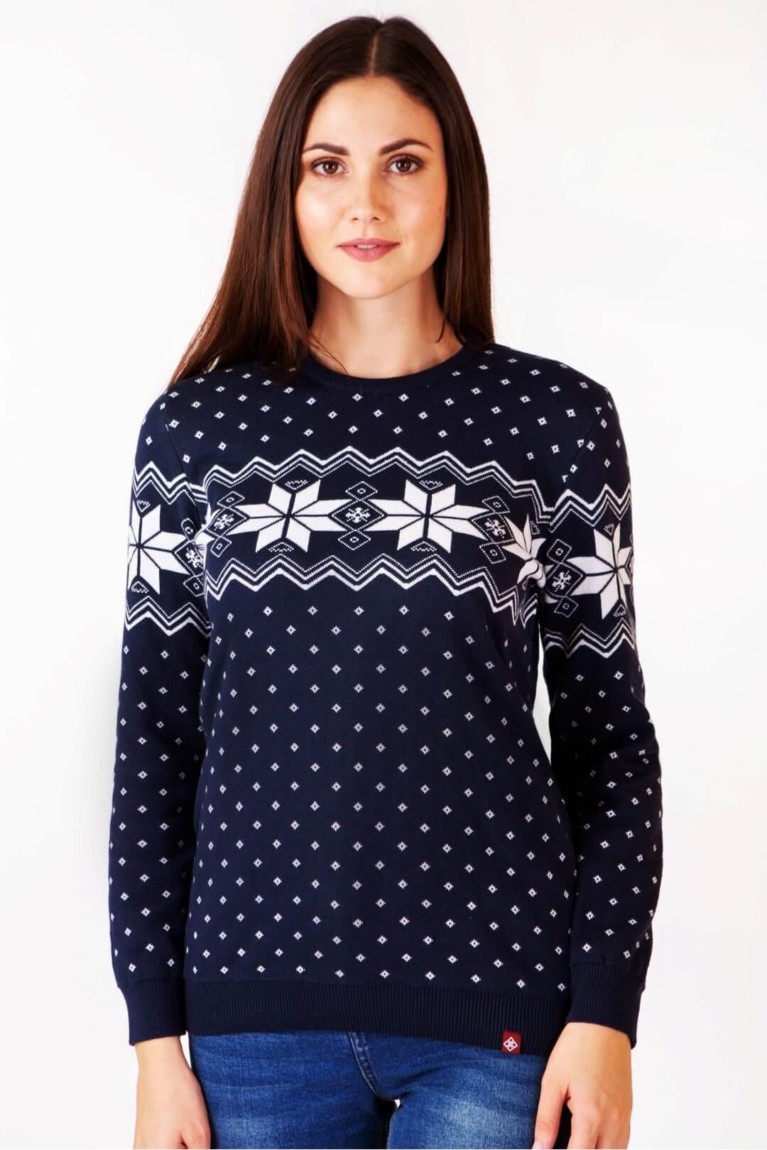 Жіночий в'язаний светр Алатир BB мод.6204