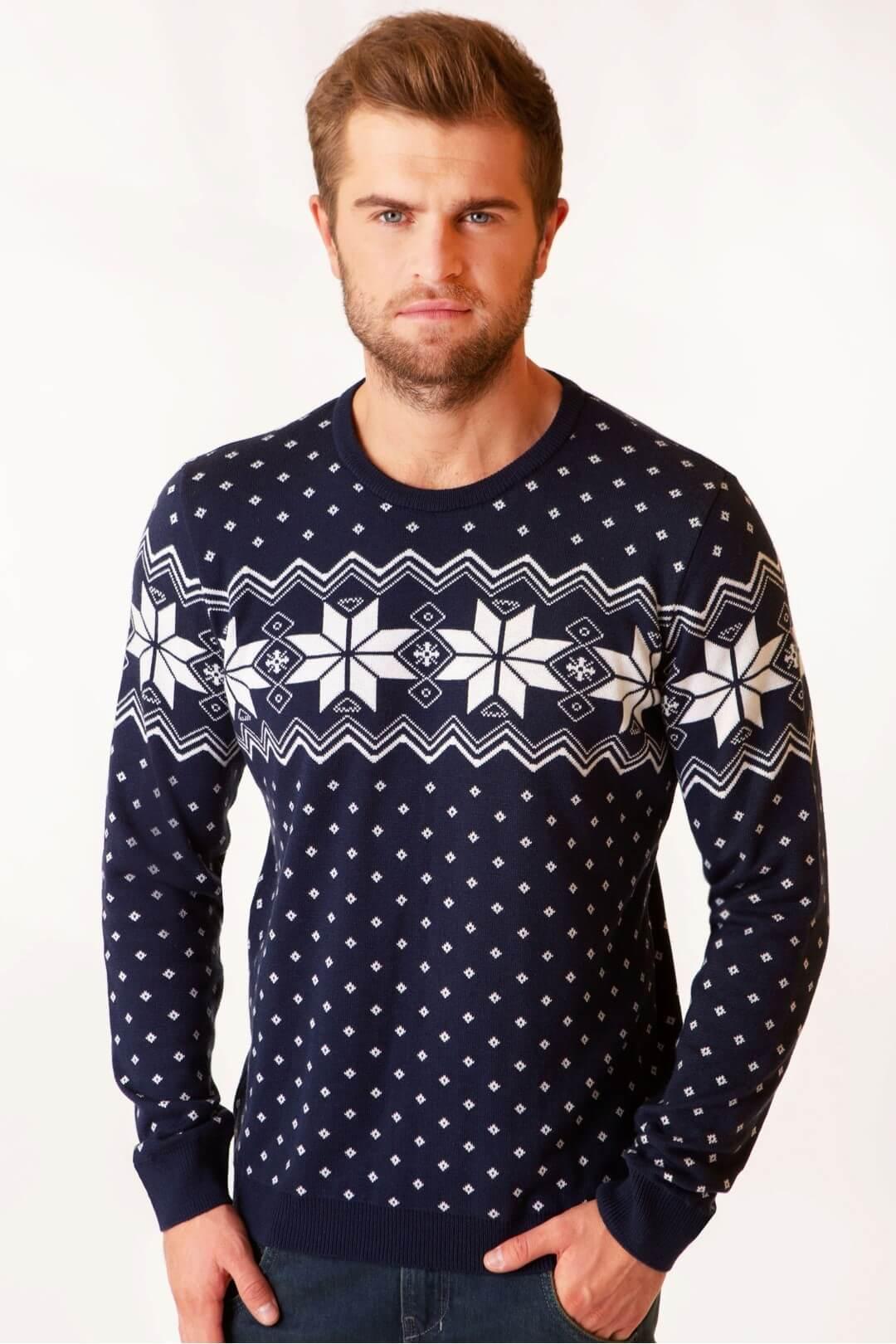 Чоловічий в'язаний светр Алатир BB мод.6205
