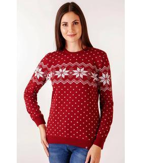 Жіночий в'язаний светр Алатир BR мод.100