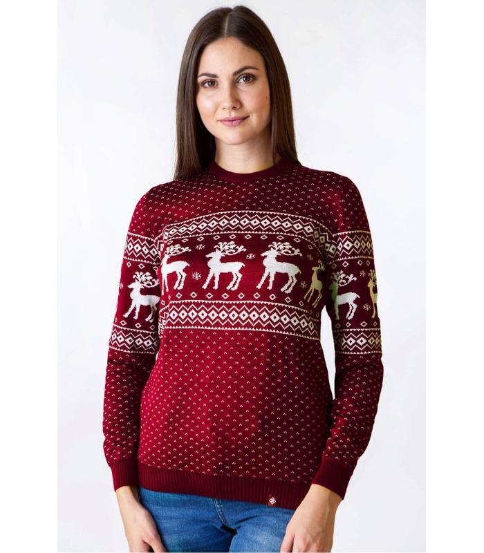 Жіночий в'язаний светр (мод.71).