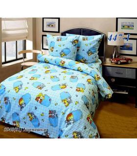 """Комплект постельного белья """"Кишеньки блакитні""""."""