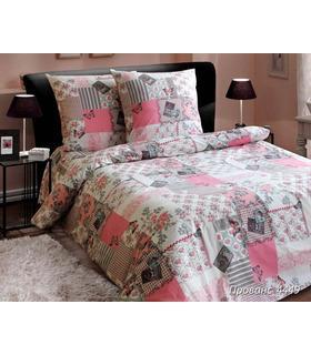 """Комплект постельного белья """"Прованс розовый""""."""