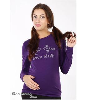 Brooke bird трикотажний лонгслів для вагітних.