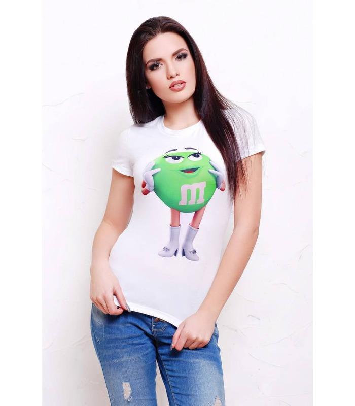 Жіноча футболка M&M's.