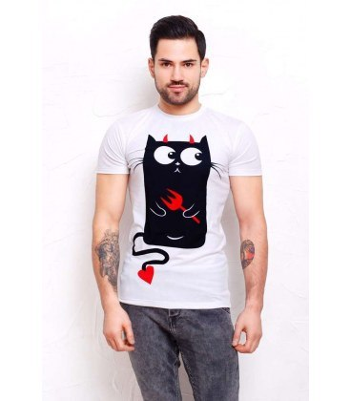 Чоловіча футболка Котики.