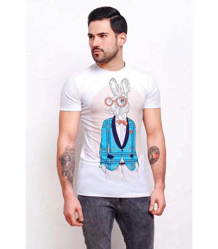 Чоловіча футболка Кролики.