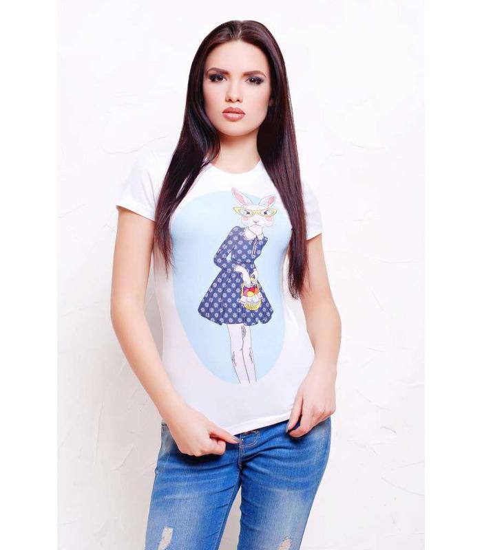 Жіноча футболка Кролики.