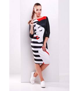 Трикотажна сукня Дівчина.
