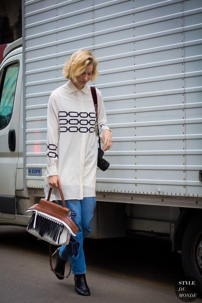 Ще одна стильна тенденція - вишивка.