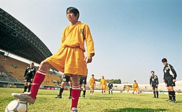 """3. """"Шаолінський футбол"""" (2001)."""