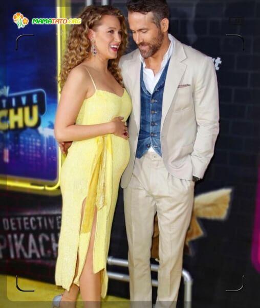 В очікування третього малюка красуня Блейк Лайвлі як завжди жіночна та елегантна. Яскравий жовтий обраний нею може підкреслити Вашу життєрадісність.